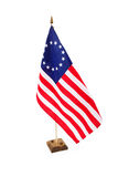 Bicentennial American Flag Stock Image
