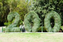 Bicentennial Decoration in Botanical Garden - Sydney Stock Images