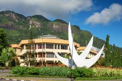 Bicentennial Monument, Victoria, Seychelles, Stock Photo