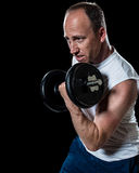Bicep Curl Stock Photos