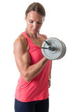 Bicep Curl Royalty Free Stock Images