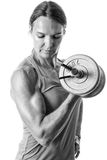 Bicep Curl Royalty Free Stock Photo