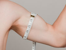 Bicep Measure Stock Photography