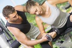 Biceps Royalty Free Stock Image