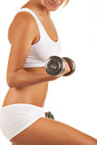 On the biceps Royalty Free Stock Photography