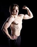 Biceps Royalty Free Stock Photos