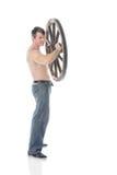 Bicepsen royalty-vrije stock foto's