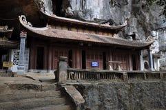 Bich东塔在Ninh Binh,越南 库存照片