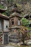 Bich东塔在Ninh Binh,越南 免版税图库摄影