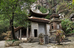 Bich东塔在Ninh Binh,越南 免版税库存照片