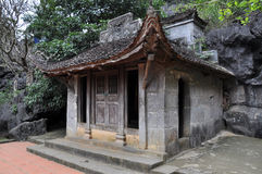 Bich东塔在Ninh Binh,越南 免版税库存图片