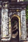 Bich东塔在Ninh Binh,越南 Trung塔(中间pag 免版税库存照片