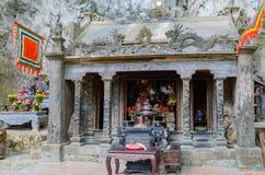 Bich东塔寺庙在Tam Coc 库存图片