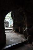 Bich东塔的内部, Ninh Binh,越南 库存图片
