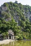 bich东寺庙越南 免版税库存照片