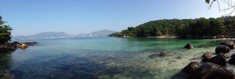 Bich de paradis de vue de Phuket Image libre de droits