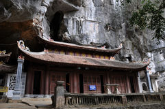 Bich pagoda in Ninh Binh, Vietnam royalty free stock images