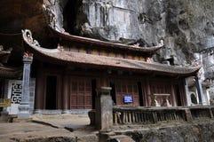 Bich Dong pagoda w Ninh Binh, Wietnam Zdjęcie Royalty Free