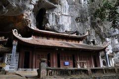Bich Dong pagoda w Ninh Binh, Wietnam Obrazy Royalty Free