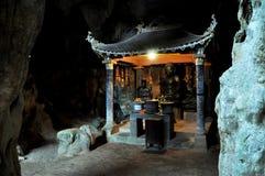 Bich Dong pagoda w Ninh Binh, Wietnam Obraz Royalty Free
