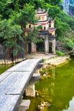 Bich Dong pagodowa brama binh ninh Vietnam Obrazy Royalty Free