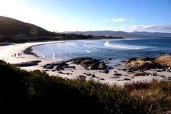 Bicheno-Strand in Tasmanien, Australien stockfotografie