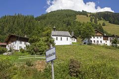Bichlbaechle στην κοιλάδα Stockach στοκ εικόνες με δικαίωμα ελεύθερης χρήσης