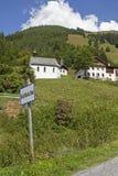 Bichlbaechle στην κοιλάδα Stockach στοκ φωτογραφίες με δικαίωμα ελεύθερης χρήσης
