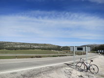Bici in Andalusia, Spagna Fotografia Stock Libera da Diritti