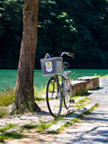 Bici @ Arashiyama, Kyoto, Giappone Fotografia Stock