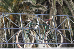 Bici bloccata Immagine Stock Libera da Diritti