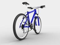 Bici blu Fotografia Stock Libera da Diritti