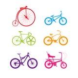 Bici Colourful Immagine Stock Libera da Diritti
