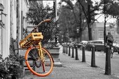 Bici de Amsterdam Foto de archivo libre de regalías