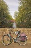 Bici de la ciudad Foto de archivo libre de regalías