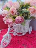 Bici de la flor Fotografía de archivo libre de regalías