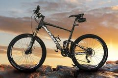 Bici de montaña gigante Fotografía de archivo