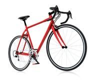 bici de montaña roja 3d Imagen de archivo libre de regalías