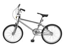 Bici de plata Fotografía de archivo libre de regalías