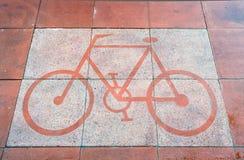 Bici del camino Foto de archivo libre de regalías