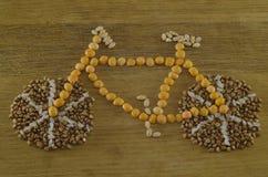 Bici del cereal Imagen de archivo