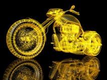 bici del deporte 3d Imagen de archivo libre de regalías
