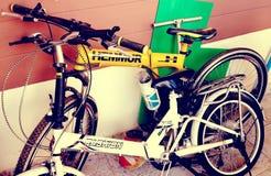 Bici del flotador Foto de archivo libre de regalías