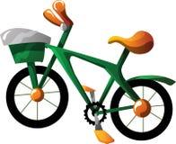 Bici del fumetto Immagini Stock