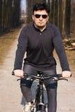Bici del montar a caballo Imágenes de archivo libres de regalías