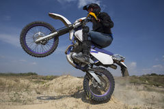 Bici del motocrós imágenes de archivo libres de regalías