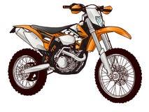 Bici del motor ilustración del vector