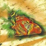 Bici del motore Fotografia Stock Libera da Diritti