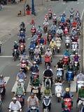 Bici del motore in Ho Chi Minh City immagini stock