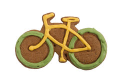 Bici del pan de jengibre imagenes de archivo